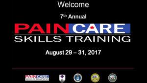 sam parker paincare skills training presentation